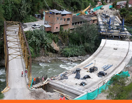 Puente López en Construcción