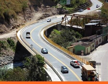 tránsito en Puente López